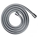 Isiflex wąż prysznicowy z imitacją powierzchni metalicznej 1,25m chrom