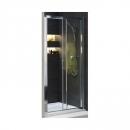 Koło Geo 6 drzwi prysznicowe rozsuwane dwuczęściowe 100 chrom/szkło przezroczyste