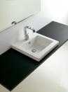 ArtCeram Gap umywalka wpuszczana w blat 51 x 51 biała