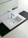ArtCeram Gap umywalka wpuszczana w blat 86 x 51 biała