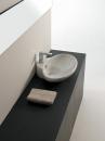ArtCeram Fuori 3 umywalka stawiana na blacie  63 x 47 biała
