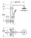 Grohe Euphoria system natryskowy z baterią termostatyczną