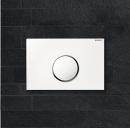 Geberit Sigma10 przycisk do spłuczki (biały / chrom matowy / chrom matowy)