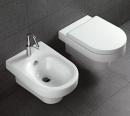 Hatria Daytime miska podwieszana WC z deską wolnoopadającą biała