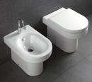Hatria Daytime miska stawiana WC z deską wolnoopadającą biała