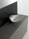 ArtCeram Plettro umywalka stawiana na blat 60 x 45 biała
