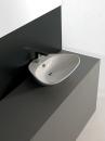 ArtCeram Plettro Quadro umywalka stawiana na blat 59 x 45 biała