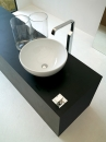 ArtCeram La Ciotola 46 umywalka stawiana na blat biała