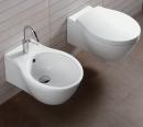 Hatria Nido miska WC podwieszana biała