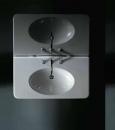 Globo Paestum umywalka 100 x 55 z otworem na baterię biała