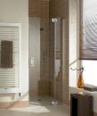 Kermi Filia XP drzwi prysznicowe do wnęki prawe 110 cm zawias srebro wysoki połysk, szkło przezroczyste z powłoką