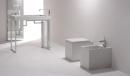 GSG OZ miska stojąca WC biała z deską wolnoopdającą