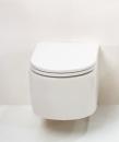 GSG Race miska podwieszana WC biała z deską wolnoopadającą