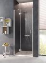 Osia drzwi prysznicowe otwierane z polem stałym 80