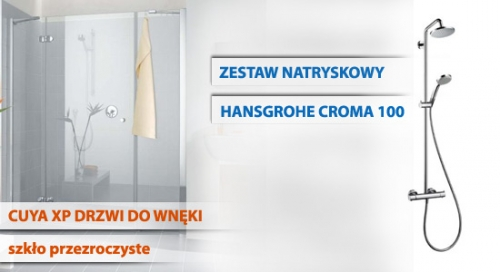 CUYA drzwi / CROMA Hansgrohe